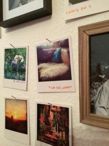 Instagram Polaroids über Photolive @ohwiewundervoll.com
