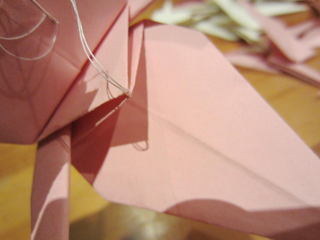 vögel origami anleitung