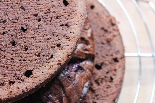 Himbeer-Brownie-Torte | www.ohwiewundervoll.com