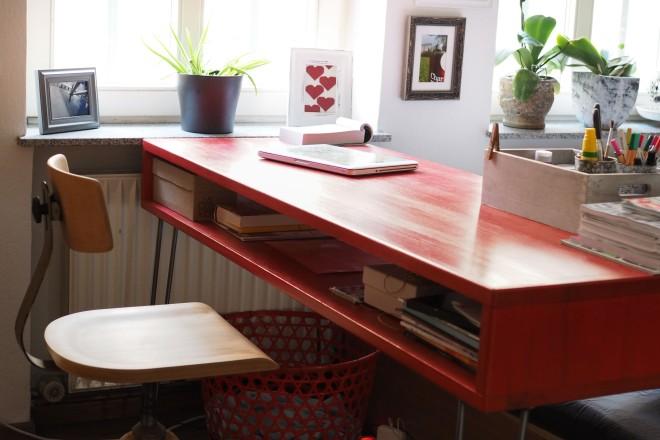 www.ohwiewundervoll.com - Schreibtisch. Arbeitsplatz. DIY. --7